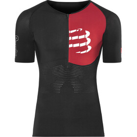 Compressport Triathlon Postural Aero Shortsleeve Top Men, black